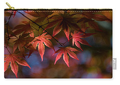 Colorful Japanese Maple Carry-all Pouch