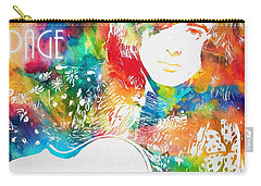 Colorful Jimmy Page Carry-all Pouch by Dan Sproul