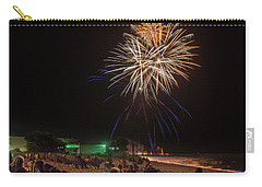 Carry-all Pouch featuring the photograph Colorful Kewaunee, Fourth by Bill Pevlor