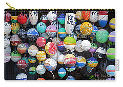 Colorful Key West Lobster Buoys Carry-all Pouch