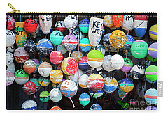 Colorful Key West Lobster Floats Carry-all Pouch