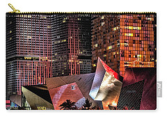 Colorful Las Vegas Evening Street Scene Carry-all Pouch
