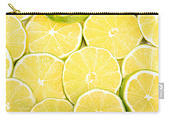 Colorful Limes Carry-all Pouch by James BO  Insogna