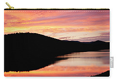 Colorful Midsummer Sunset Carry-all Pouch