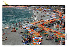 Colorful Monterosso Carry-all Pouch by Corinne Rhode