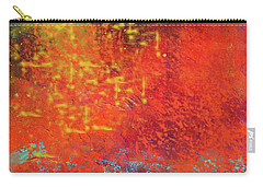 Carry-all Pouch featuring the painting Colorful Night by Nancy Merkle