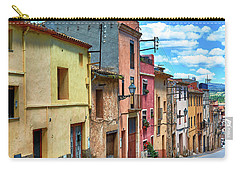 Colorful Old Houses In Tarragona Carry-all Pouch