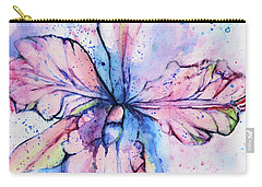 Colorful Orchid Flower Carry-all Pouch