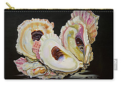 Colorful Oyster Shells Carry-all Pouch