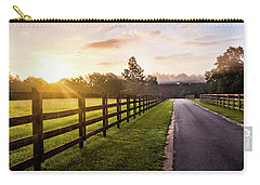 Carry-all Pouch featuring the photograph Colorful Palette At Sunrise by Shelby Young