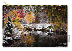 Colorful Pond Carry-all Pouch