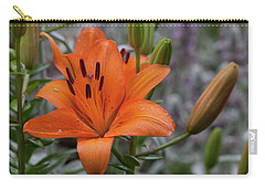 Colorful Raindrops Carry-all Pouch by Suzanne Gaff
