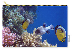 Colorful Red Sea Fish And Corals Carry-all Pouch