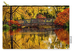 Colorful Reflections Carry-all Pouch by Kristal Kraft