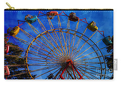 Colorful Ride Carry-all Pouch by Sherman Perry
