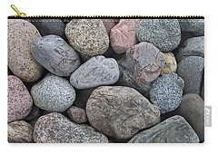 Carry-all Pouch featuring the photograph Colorful Rocks by Richard Bryce and Family