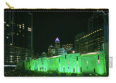 Colorful Romare Bearden Park In Charlotte Carry-all Pouch by Serge Skiba