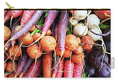 Colorful Root Vegetables Carry-all Pouch by GoodMood Art