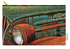 Colorful Rust Carry-all Pouch