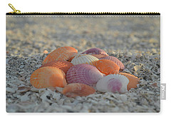 Colorful Scallop Shells Carry-all Pouch