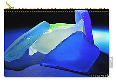Colorful Sea Glass Carry-all Pouch