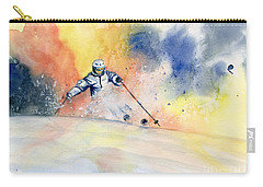 Colorful Skiing Art 2 Carry-all Pouch