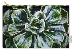 Colorful Succulent Carry-all Pouch by Sandra Estes