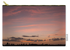 Colorful Sunset Over The Wetlands Carry-all Pouch