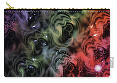 Colorful Swirls Carry-all Pouch
