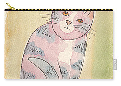 Colorful Tabby Carry-all Pouch