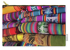 Colorful Tablecloths Carry-all Pouch