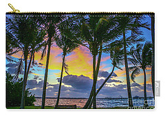 Colorful Tropical Sky Carry-all Pouch