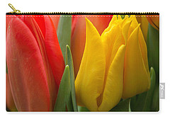 Colorful Tulip Bouquet Carry-all Pouch