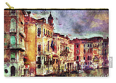 Colorful Venice Canal Carry-all Pouch