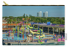 Colorful Water Park Carry-all Pouch