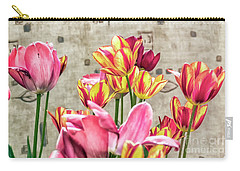 Colorfull Tulips Carry-all Pouch