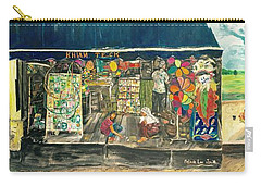 Coloring Holland V - Wall Two Carry-all Pouch by Belinda Low