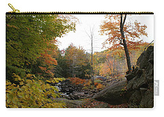 Colors Along The Stream Carry-all Pouch by Lois Lepisto
