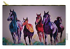 Colors In Wild Carry-all Pouch