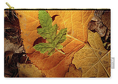 Carry-all Pouch featuring the photograph Colors Of Autumn by Marie Leslie