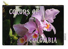 Colors Of Colombia Carry-all Pouch
