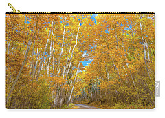 Carry-all Pouch featuring the photograph Colors Of Fall by Darren White