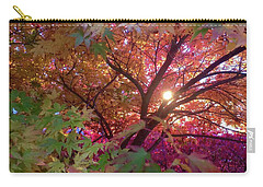 Carry-all Pouch featuring the photograph Colors Of Joy by Karen Horn