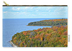 Colors Of Peninsula Carry-all Pouch by Greta Larson Photography