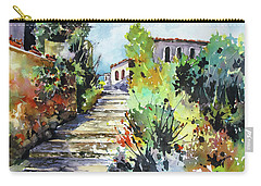 Colors Of Spain Carry-all Pouch by Rae Andrews