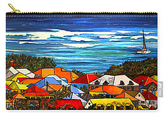 Colors Of St Martin Carry-all Pouch by Patti Schermerhorn