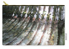 Carry-all Pouch featuring the photograph Colors Of The Culvert by Marie Neder