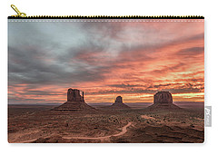 Carry-all Pouch featuring the photograph Colors Of The Past by Jon Glaser