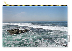 Colors Of The Sea Carry-all Pouch by Carol  Bradley