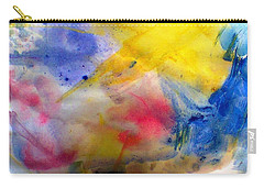 Colors Of The Skies Carry-all Pouch by Khalid Saeed